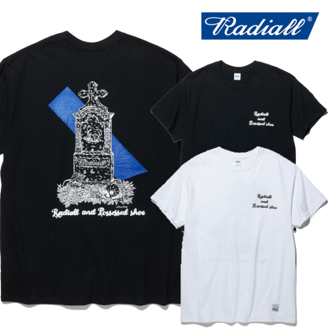 RADIALL(ラディアル) GRAVE - CREW NECK T-SHIRT S/S 【Tシャツ 半袖】【2020 SPRING&SUMMER COLLECTION】【RAD-PSD003】【ポゼス