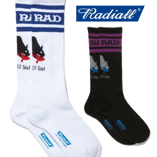 RADIALL(ラディアル) 2PAC SOX - SKATE RAT 【ソックス】【2020 SPRING&SUMMER COLLECTION SPOT】【RAD-PSD004】