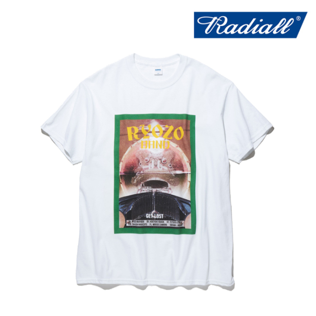 RADIALL(ラディアル) GET LOST - CREW NECK T-SHIRT S/S 【Tシャツ 半袖】【2020 SPRING&SUMMER COLLECTION】【RAD-RYZ001】