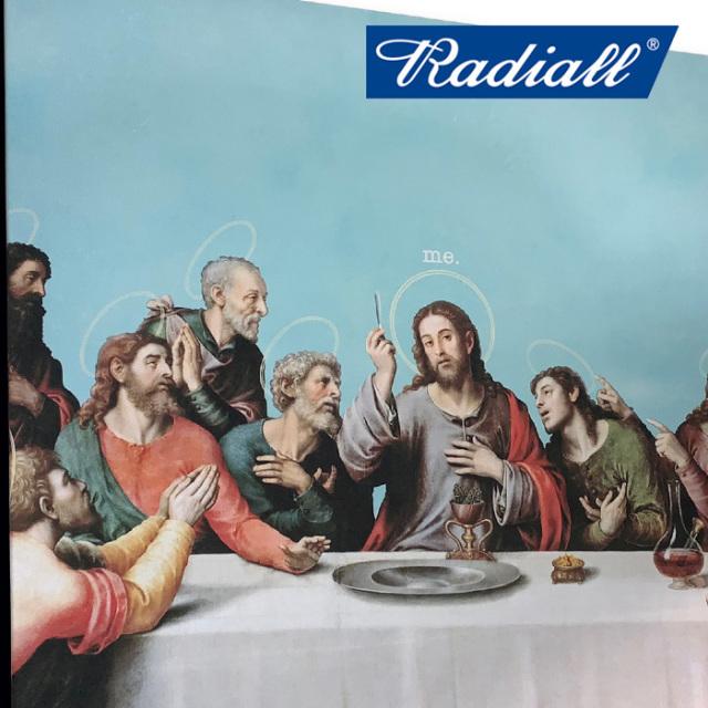 RADIALL(ラディアル) HEDONISM - PRINTED CANVAS 【プリントキャンバス】【2020年初売り限定アイテム】【RAD-19AW-SPOT-ACC003】