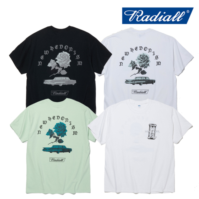 RADIALL(ラディアル) MATTER - CREW NECK T-SHIRT S/S 【Tシャツ 半袖】【2020 SPRING & SUMMER SPOT COLLECTION】【RAD-20SS-SPOT