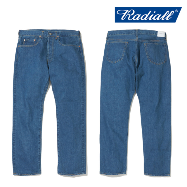 RADIALL(ラディアル) KUSTOM 350B-STRAIGHT FIT PANTS 【デニムパンツ】【2020 SPRING&SUMMER COLLECTION】【RAD-DNM-PT008-02】