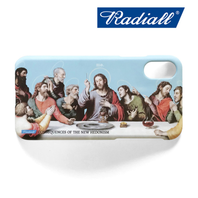 RADIALL(ラディアル) HEDONISM - IPHONE CASE for X/XS 【Iphoneケース】【2020年初売り限定アイテム】【RAD-19AW-SPOT-ACC001-02