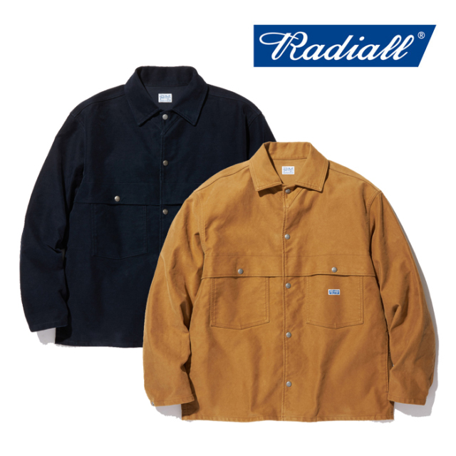 RADIALL(ラディアル) T.N. WORK JACKET 【2019 AUTUMN&WINTER COLLECTION】 【TN-19AW-JK023】【ワークジャケット】
