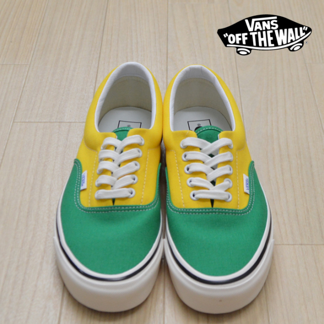 【VANS(バンズ)】 ERA 95 DX (Anaheim Factory) OG Emerald/OG Yellow/OG Navy 【VANS スニーカー】【エラ】【VN0A2RR1VY9】