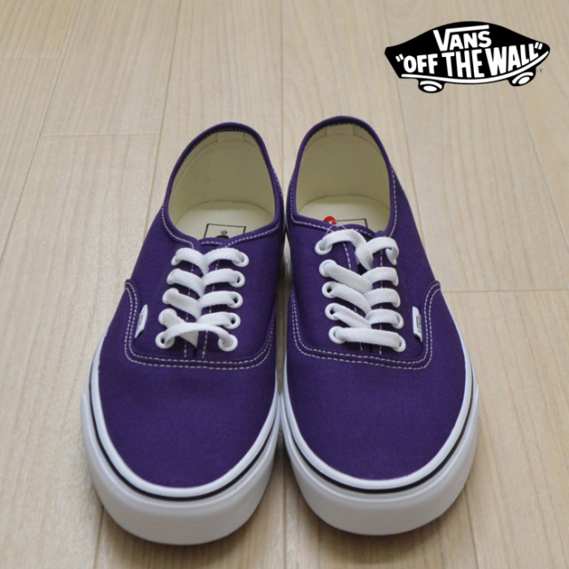 【VANS(バンズ)】 AUTHENTIC  Violet Indigo/True White 【VANS スニーカー】【オーセンティック】【VN0A2Z5IV7F】