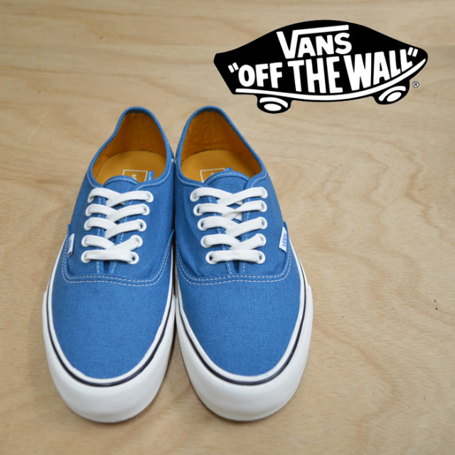 【VANS(バンズ)】 AUTHENTIC SF(Salt Wash) Corsair/Marshmallow 【即発送可能】 【VANS スニーカー】 【VN0A3MU6U6R】