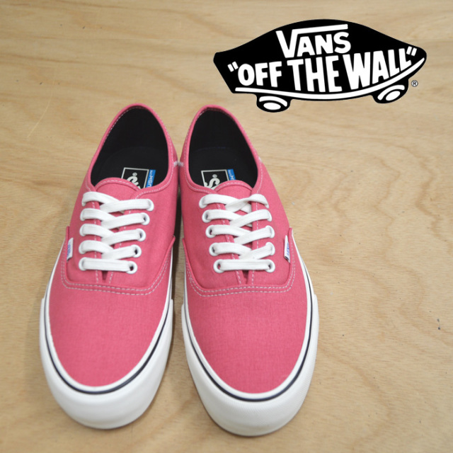 【VANS(バンズ)】 AUTHENTIC SF(Salt Wash) Desert Rose/Marshmallow 【即発送可能】 【VANS スニーカー】 【VN0A3MU6U6S】