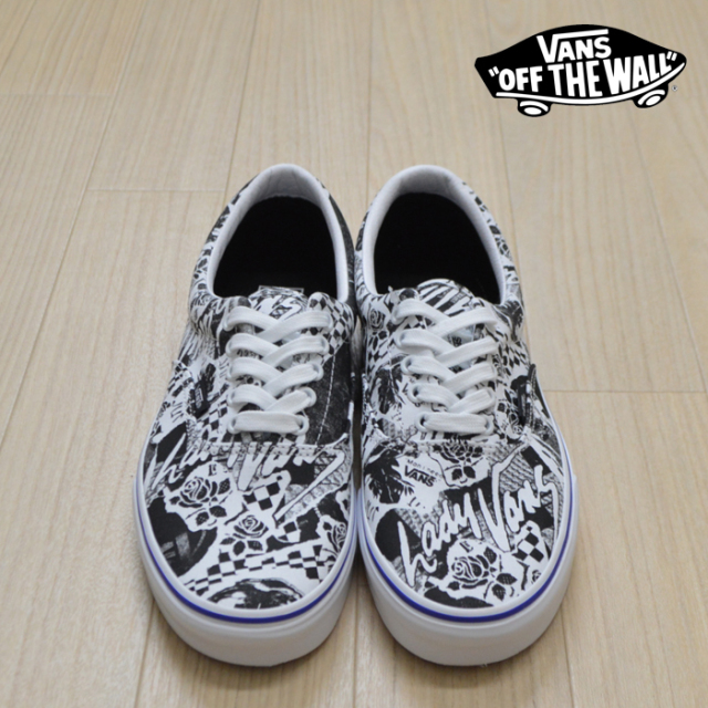 【VANS(バンズ)】 ERA (LADY VANS)WHITE/TRUE WHITE 【VANS スニーカー】【エラ】【VN0A4BV4VXT】
