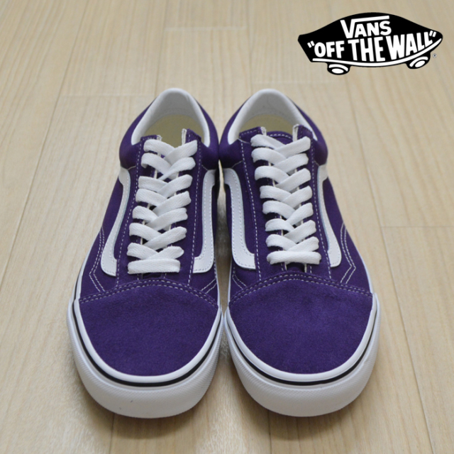 【VANS(バンズ)】 OLD SKOOL Violet Indigo/True White 【VANS スニーカー】【オールドスクール】【VN0A4BV5V7F】【メンズ レディ
