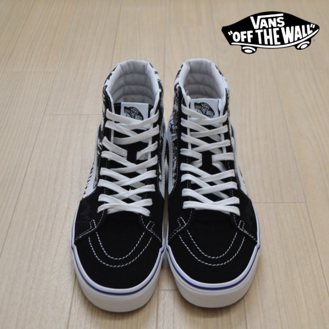 【VANS(バンズ)】 SK8-HI (LADY VANS) BLACK/TRUE WHITE 【VANS スニーカー】【スケハイ】【VN0A4BV6XK9】