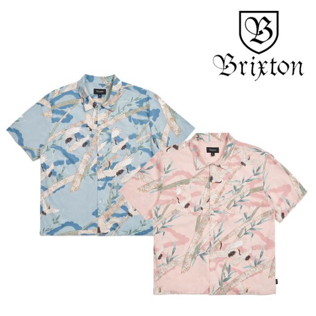 BRIXTON(ブリクストン) LOVITZ II S/S WVN 【2019SPRING/SUMMER新作】 【01146】【シャツ】