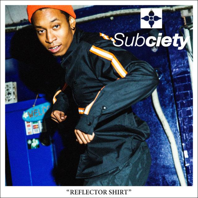 SUBCIETY(サブサエティ) REFLECTOR SHIRT 【2018SPRING先行予約】 【送料無料】【キャンセル不可】 【SUBCIETY シャツ】【104-20