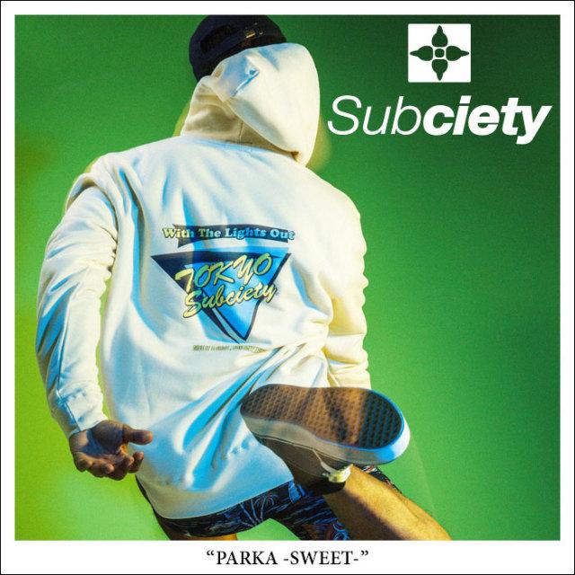 SUBCIETY(サブサエティ) PARKA-SWEET- 【2018SPRING先行予約】 【送料無料】【キャンセル不可】 【SUBCIETY パーカー】【104-311