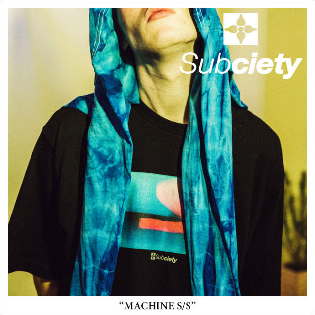 SUBCIETY(サブサエティ) MACHINE S/S 【2018SPRING先行予約】 【キャンセル不可】 【SUBCIETY Tシャツ】【104-40225】