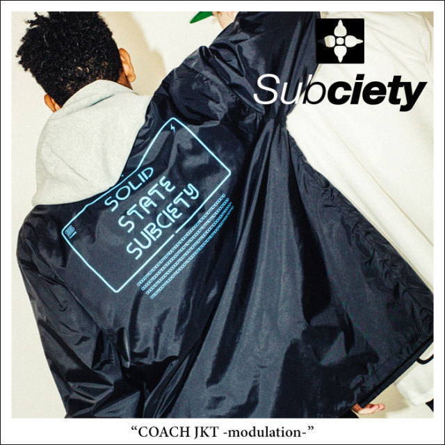 SUBCIETY(サブサエティ) COACH JKT-modulation- 【2018SPRING先行予約】 【送料無料】【キャンセル不可】 【SUBCIETY コーチジャ