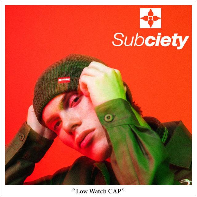 SUBCIETY(サブサエティ) Low Watch CAP 【2018SPRING先行予約】 【キャンセル不可】 【104-86240】