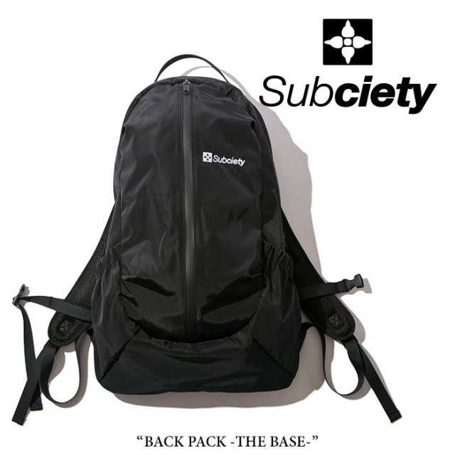 SUBCIETY(サブサエティ) BACK PACK-THE BASE- 【2018SPRING先行予約】 【送料無料】【キャンセル不可】 【SUBCIETY バックパック
