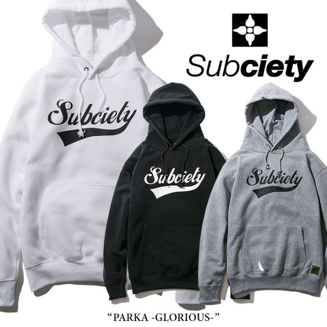 【SALE30%OFF】 SUBCIETY(サブサエティ) PARKA-GLORIOUS- 【2018SPRING新作】 【105-31040】