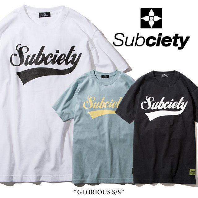 【SALE20%OFF】 SUBCIETY(サブサエティ) GLORIOUS S/S 【2018SPRING新作】 【105-40038】