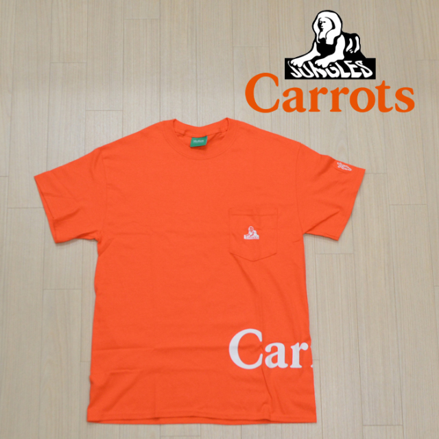 "CARROTS(キャロッツ) LOGO POCKET T-SHIRT 【""Carrots"" -by Anwar Carrots-】 【Tシャツ】【CJ-LPKT】"