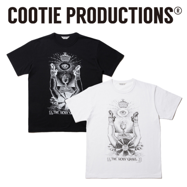 COOTIE(クーティー)   Print S/S Tee (THE HOLY GRAIL)  【CTE-19S335】 【プリントTシャツ】