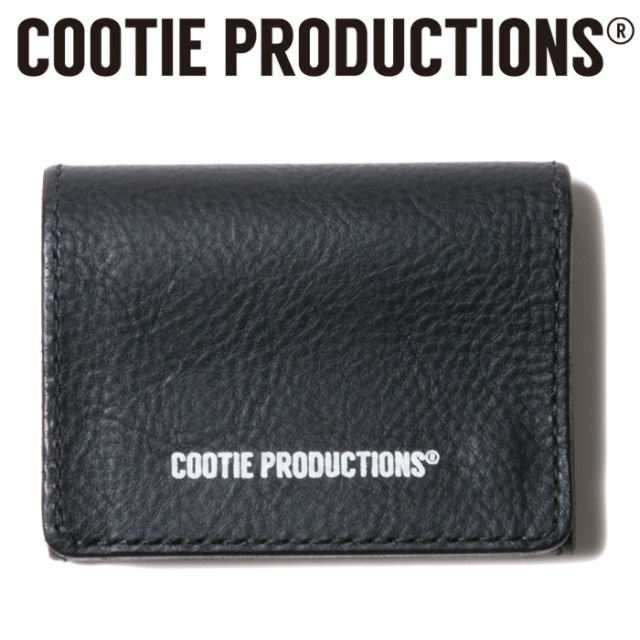COOTIE(クーティー)    Leather Clasp Wallet 【CTE-19S518】 【レザーウォレット】【送料無料】