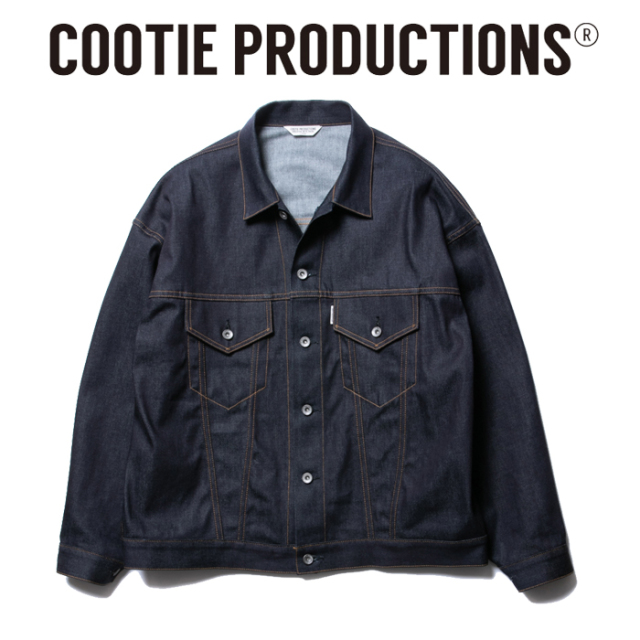 COOTIE(クーティー) Raza Denim Jacket 【デニムジャケット】【送料無料】【CTE-20S201】