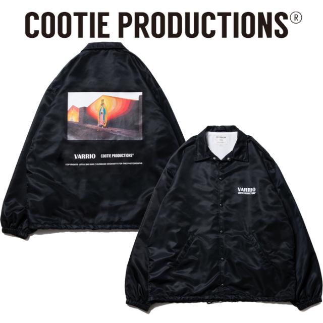COOTIE(クーティー) Nylon Coach Jacket (MARY) 【コーチジャケット】【送料無料】【CTE-20S212】
