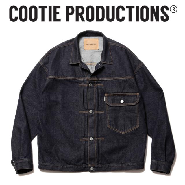 COOTIE (クーティー)  1st Type Denim Jacket  【デニムジャケット ジャケット】【CTE-21A202】【COOTIE PRODUCTIONS クーティープ
