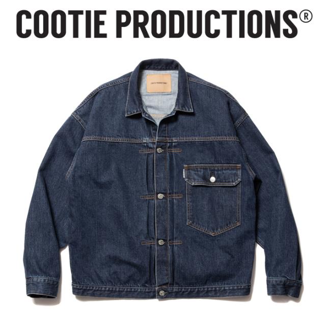 COOTIE (クーティー)  1st Type Denim Jacket  【デニムジャケット ジャケット】【COOTIE PRODUCTIONS クーティープロダクションズ