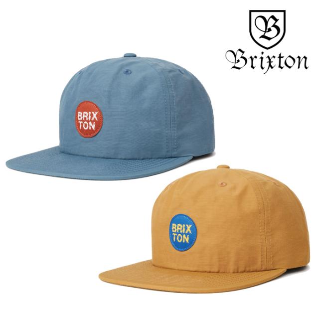 BRIXTON(ブリクストン) GLASGOW MP SNAPBACK CAP 【2019SPRING/SUMMER新作】 【キャップ 帽子】