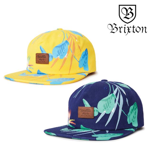【SALE30%OFF】 BRIXTON(ブリクストン) GRADE II UC SNAPBACK CAP 【2019SPRING/SUMMER新作】【セール】 【キャップ 帽子】
