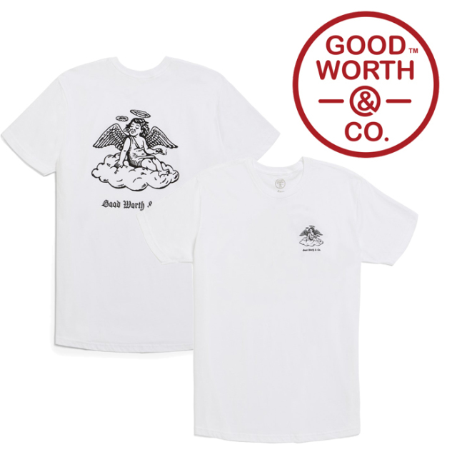 GOOD WORTH(グッドワース) & CO ANGEL TEE 【2019SUMMER COLLECTION】【TEE,Tシャツ】