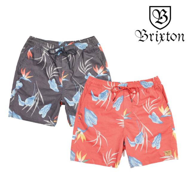 BRIXTON(ブリクストン) HAVANA TRUNK 【2019SUMMER新作】【セール】 【ショートパンツ 短パン】【アロハ柄】