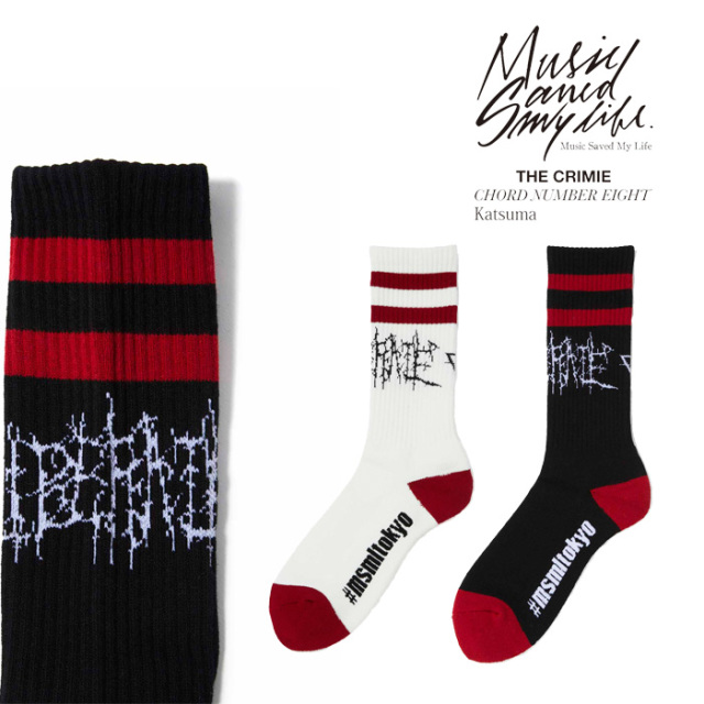 MSML(MUSIC SAVED MY LIFE) LIBERATE SOX 【2019SPRING/SUMMER新作】 【ソックス】【M1K1K-AC03】