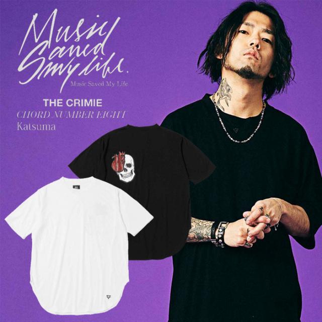MSML(MUSIC SAVED MY LIFE) BIG TEE (スカルプリント) 【2019SPRING/SUMMER新作】 【ビッグTシャツ】【M1K1K-CS05】