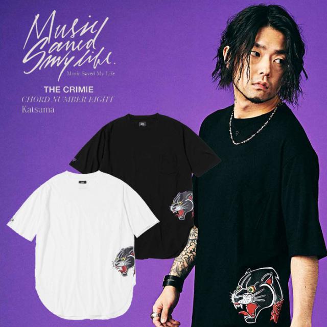 MSML(MUSIC SAVED MY LIFE) BIG TEE (パンサープリント) 【2019SPRING/SUMMER新作】【送料無料】 【ビッグTシャツ】【M1K1K-CS06