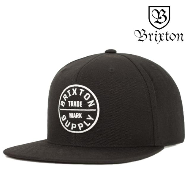 BRIXTON(ブリクストン) OATH III SNAPBACK CAP 【2019SPRING/SUMMER新作】 【キャップ 帽子】