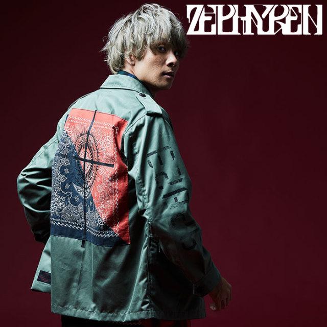 ZEPHYREN(ゼファレン) MILITARY JACKET 【2018AUTUMN/WINTER先行予約】 【キャンセル不可】【Z18AA06】