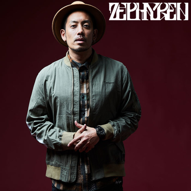 ZEPHYREN(ゼファレン) MA-1 -PLEDGE- 【2018AUTUMN/WINTER先行予約】 【キャンセル不可】【Z16AA05】
