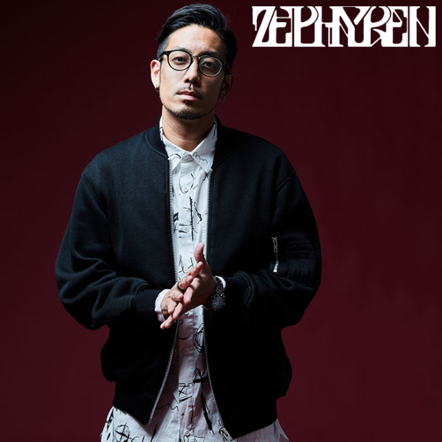 ZEPHYREN(ゼファレン) KNIT MA-1 【2018AUTUMN/WINTER先行予約】 【キャンセル不可】【Z18AB15】