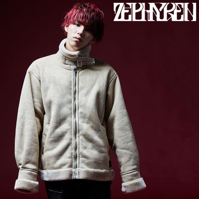 ZEPHYREN(ゼファレン) BOA JACKET 【2018AUTUMN/WINTER先行予約】 【キャンセル不可】【Z18AB19】