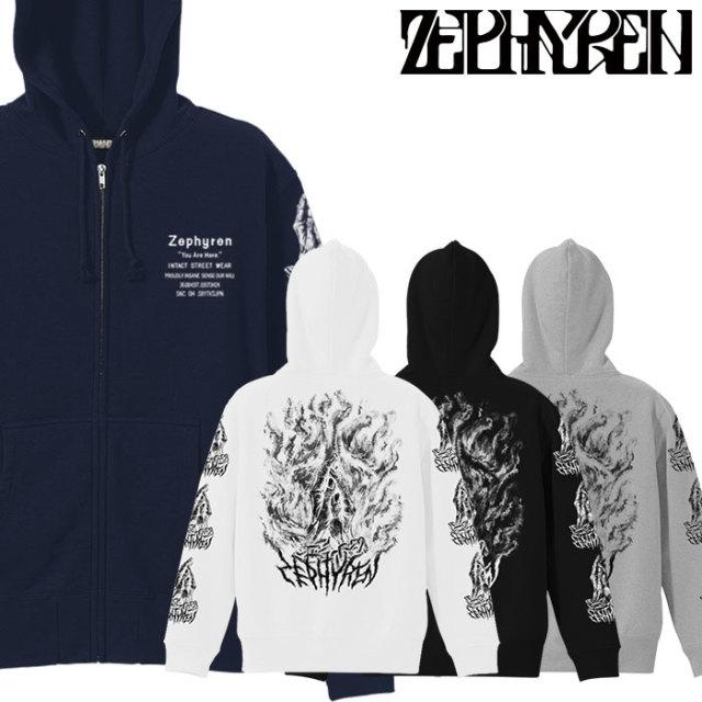 ZEPHYREN(ゼファレン)  ZIP PARKA -PRAYING HANDS-  【2018AUTUMN/WINTER先行予約】 【キャンセル不可】【Z18AN13】