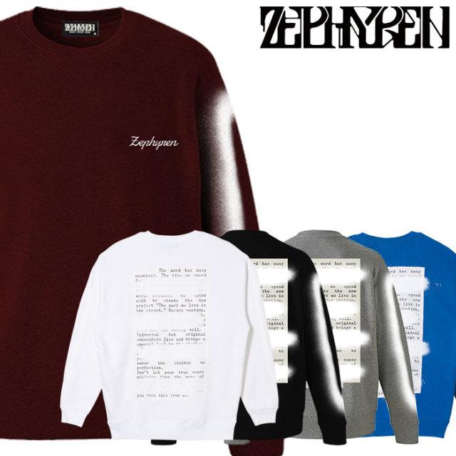 ZEPHYREN(ゼファレン)  SWEAT -PLEDGE-  【2018AUTUMN/WINTER先行予約】 【キャンセル不可】【Z18AO20】