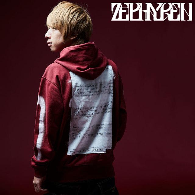 ZEPHYREN(ゼファレン)  ZIP PARKA -PLEDGE-  【2018AUTUMN/WINTER先行予約】 【キャンセル不可】【Z18PN02】