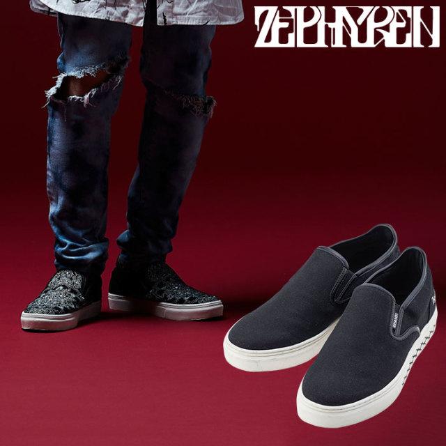 ZEPHYREN(ゼファレン) SLIPPON(BLACK) 【2018AUTUMN/WINTER先行予約】 【キャンセル不可】【Z18PY01】