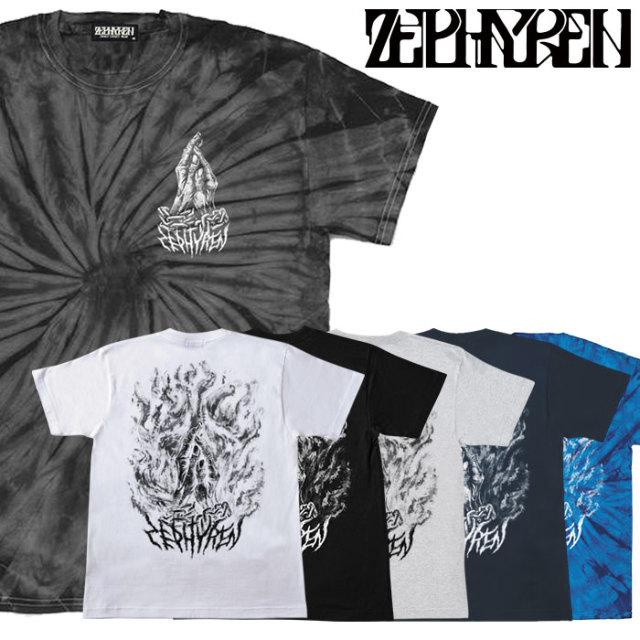 ZEPHYREN(ゼファレン) S/S TEE -PRAYING HANDS-  【2018AUTUMN/WINTER先行予約】 【キャンセル不可】【Z18UL24】