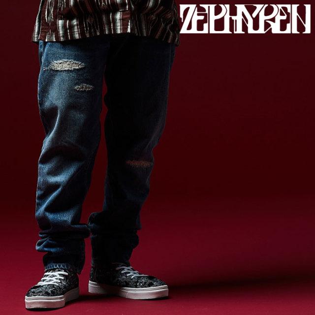 ZEPHYREN(ゼファレン) DENIM -DANNY- 【2018AUTUMN/WINTER先行予約】 【キャンセル不可】【Z18UQ02】