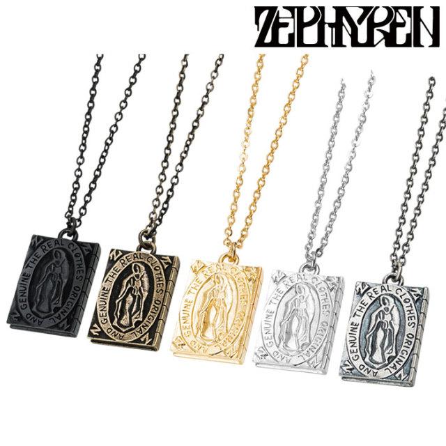 ZEPHYREN(ゼファレン) METAL NECKLACE -Guadalupe-  【2018AUTUMN/WINTER先行予約】 【キャンセル不可】【Z18UW03】